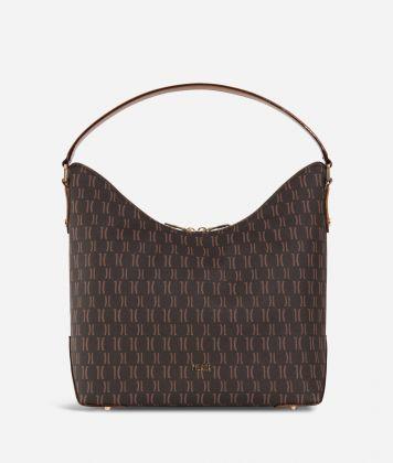 Monogram Hobo bag Dark Buff