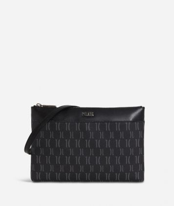Monogram Small Crossbody Bag Black