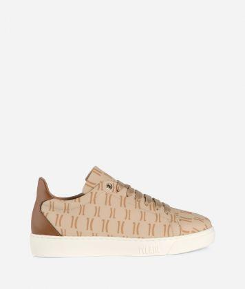 Monogram Sneakers Cream