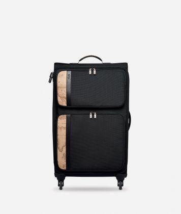 Work Way Large nylon suitcase