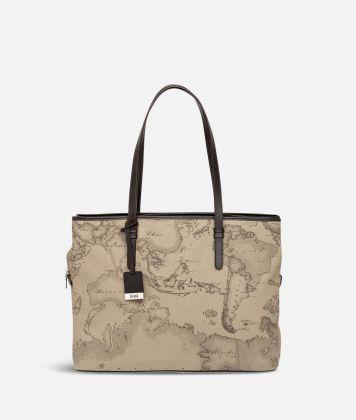Geo Tortora Large business shoulder bag