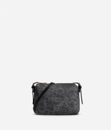 Geo Black Mini crossbody bag
