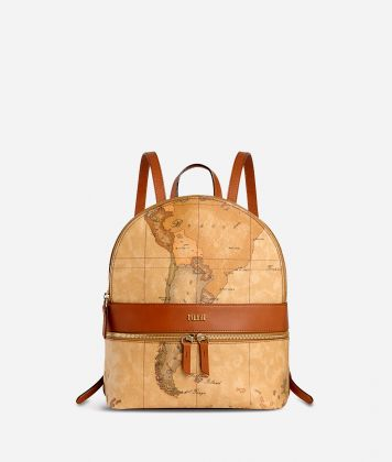 Geo Classic  Medium backpack with logo