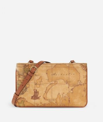 Geo Classic Crossbody bag with double pocket