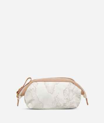 Geo Soft White Small beauty case