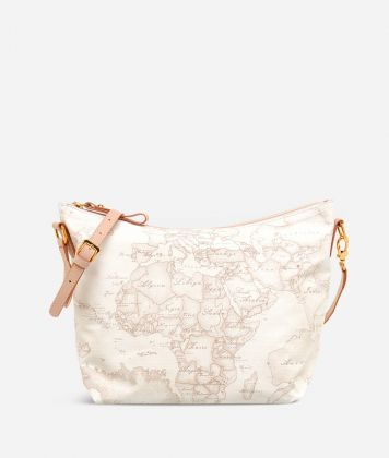 Geo Soft White Borsa media a tracolla