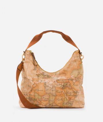Geo Soft Shoulder bag with Geo Classic print