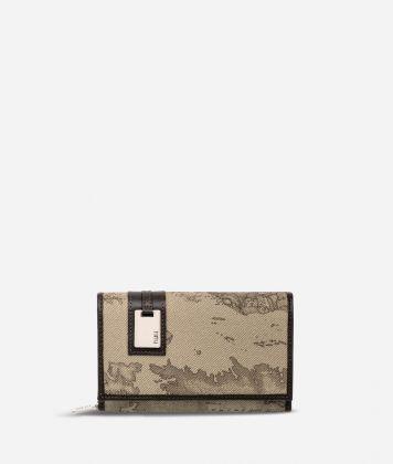 Geo Tortora Medium wallet with pocket