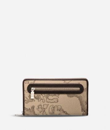 Geo Tortora Large wallet with zip pocket