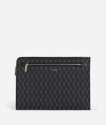 Monogram Briefcase pouch Black