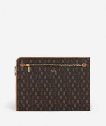 Monogram Busta portadocumenti Marrone