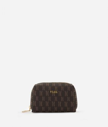 Monogram Small beauty case Brown