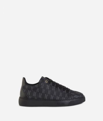 Monogram Sneakers Black
