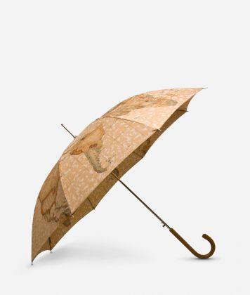 Automatic umbrella in printed Geo Classic fabric