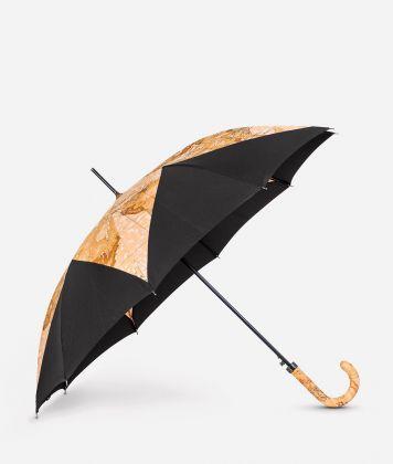 Automatic umbrella in black-Geo Classic fabric