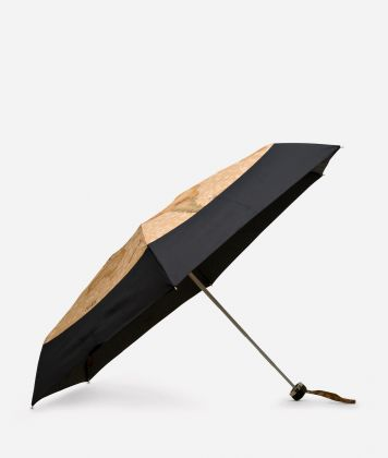 Mini umbrella in black-Geo Classic fabric