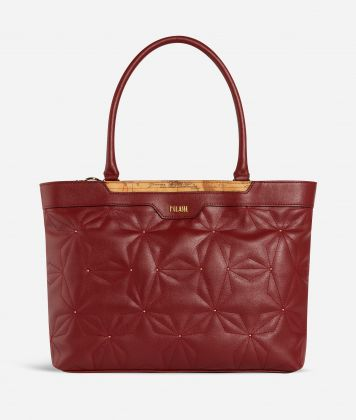 Shiny Star Borsa Shopping Rossa