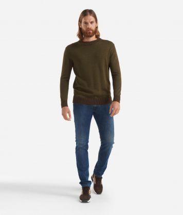 5-pockets pants Blue
