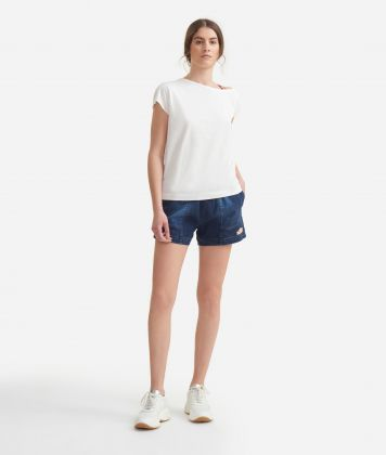 T-shirt in jersey cotton White