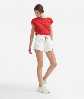 T-shirt in jersey cotton Red
