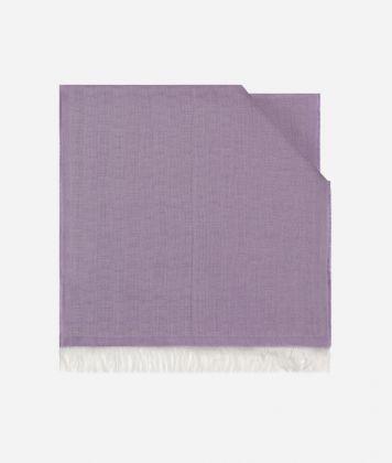 Scarf with 1C print 40 x 190 Purple