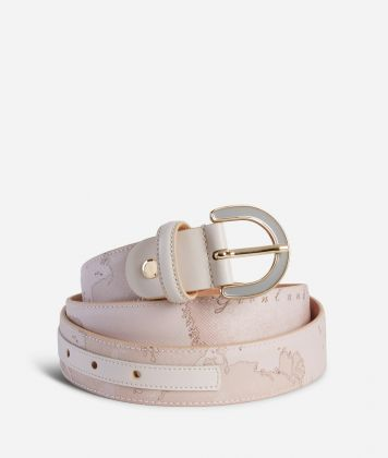 Geo Nude Belt Pink