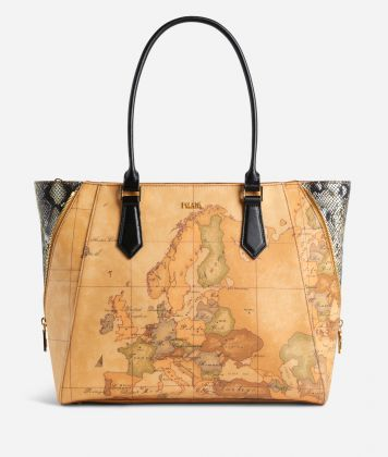 Geo Glamour Borsa shopping Nera
