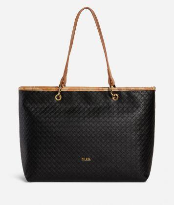 Beverly Shopping Bag Black