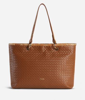 Beverly Shopping Bag Brown