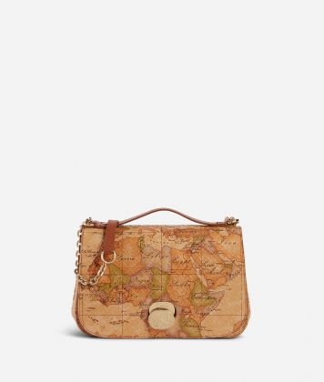 Lady Bag Tracolla in nappa stampa Geo Classic