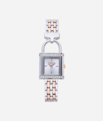Bali Bicolor stainless steel watch Silver and Rose Gold
