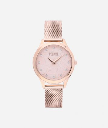 Ischia Stainless steel watch Rose Gold