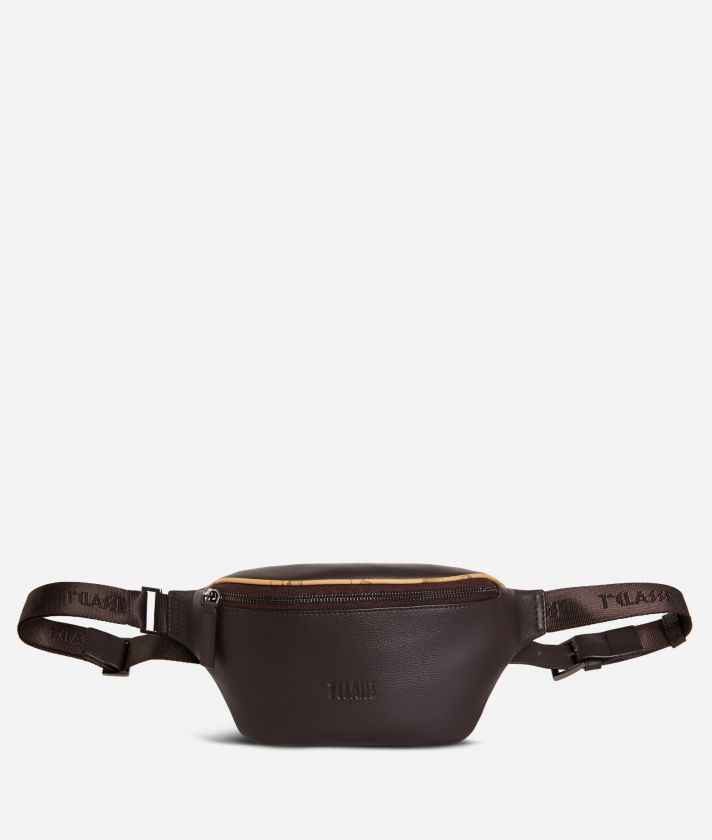 Belt bag leather brown