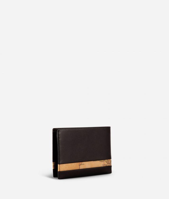 Geo Classic men's wallet in leather black
