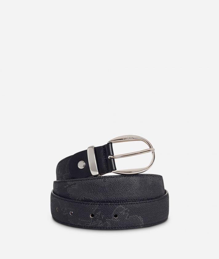 Geo Black Cintura con inserti in pelle