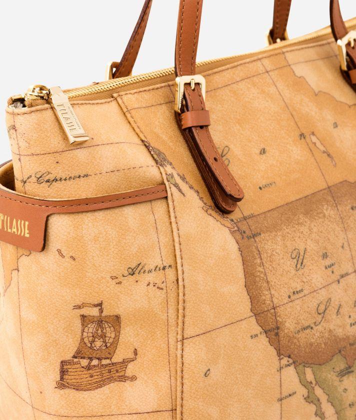 Geo Classic Handbag with strap