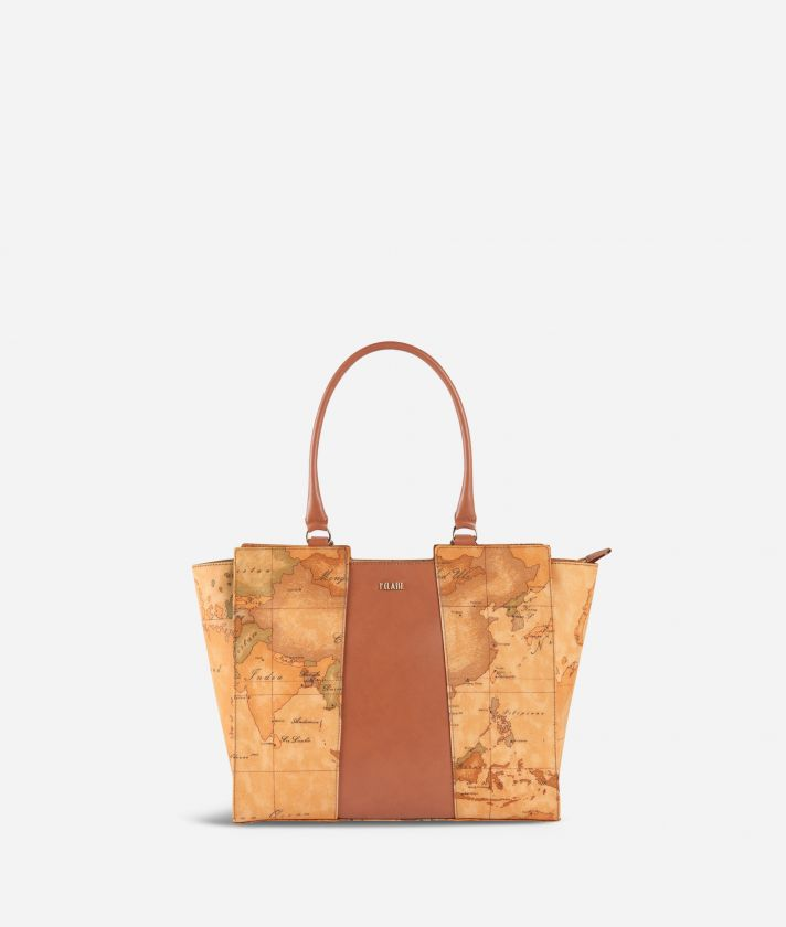 Geo Classic Shopping bag with central band