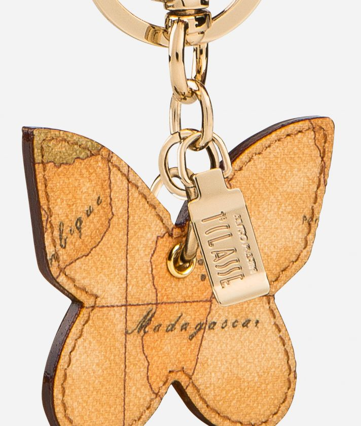 Geo Classic Butterfly shaped key ring