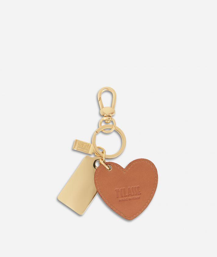 Geo Classic Heart Keyring