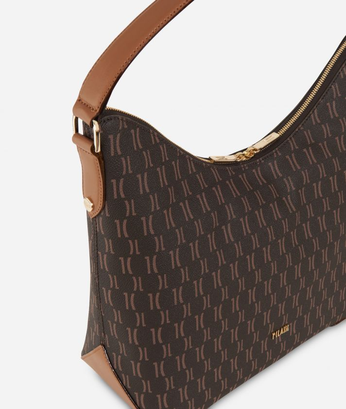 Monogram Hobo bag Dark Buff