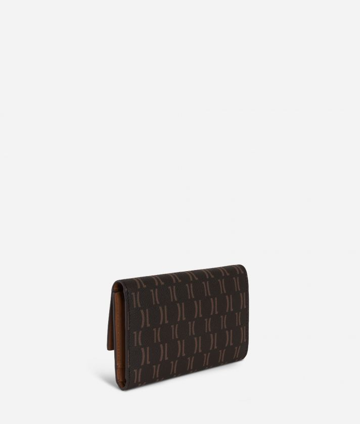 Monogram Small Wallet Dark Buff