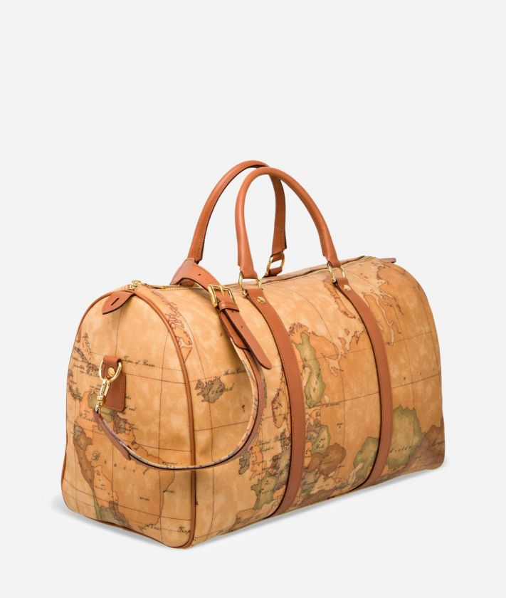 Geo Classic Weekender bag with strap