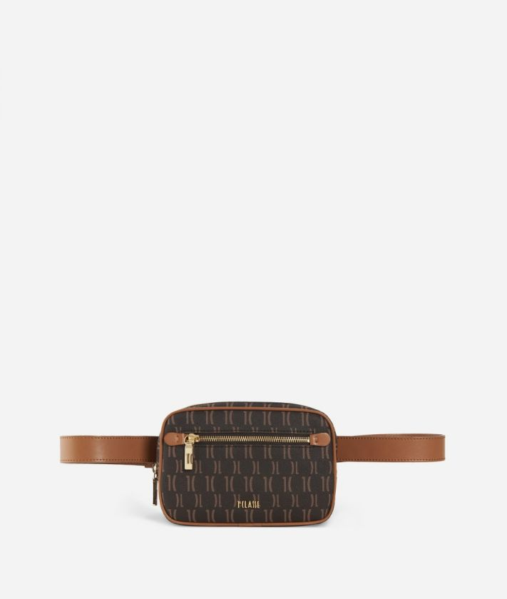 Monogram Belt Bag Brown