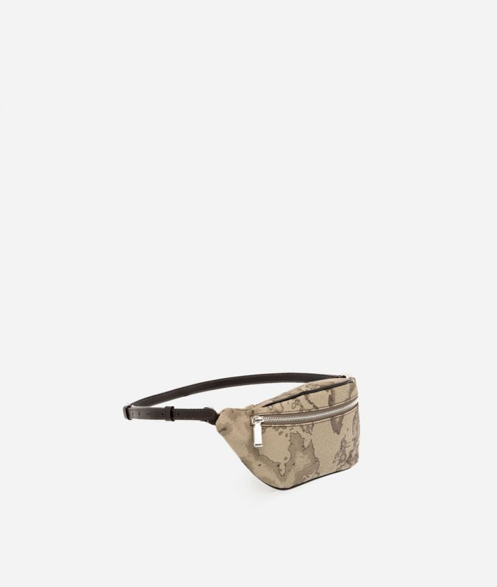 Geo Tortora Belt bag with logo buckle
