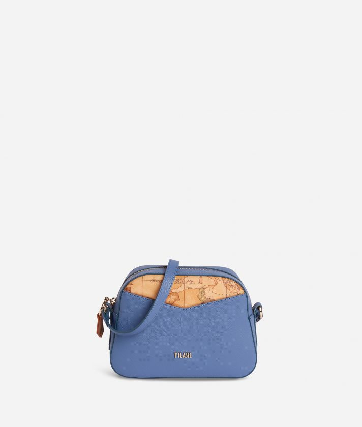 Art City Small Crossbody Bag Blue