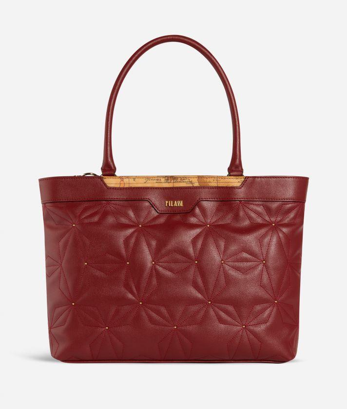 Shiny Star Borsa Shopping Rossa