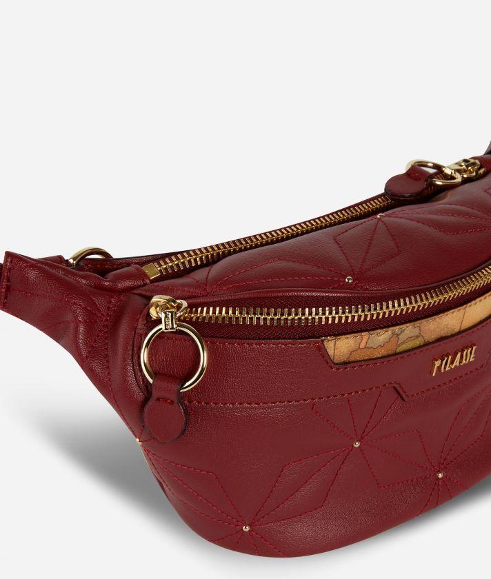 Shiny Star Belt Bag Rossa