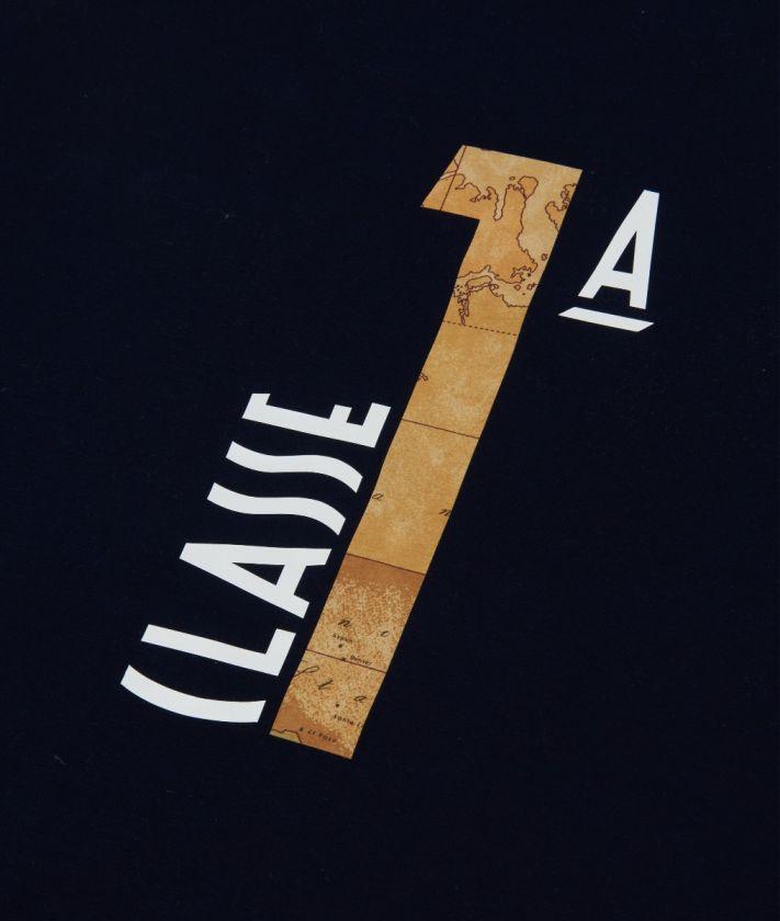 Copertina in cotone con logo 1A classe Blu