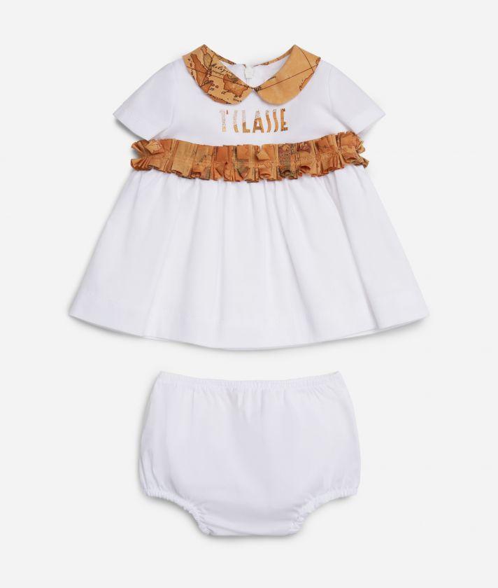 Baby girl dress Geo Classic details