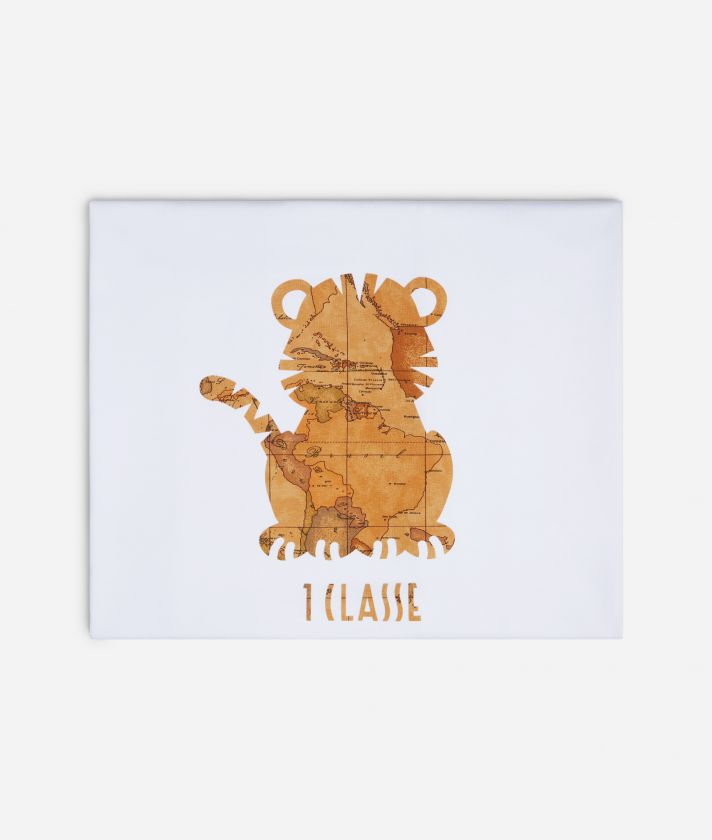 Baby blanket with tiger